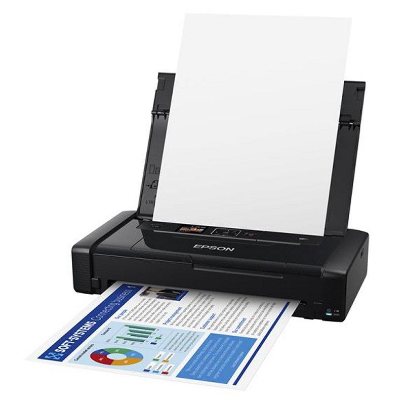 Epson Impresora WorkForce WF-110W A4 Portátil