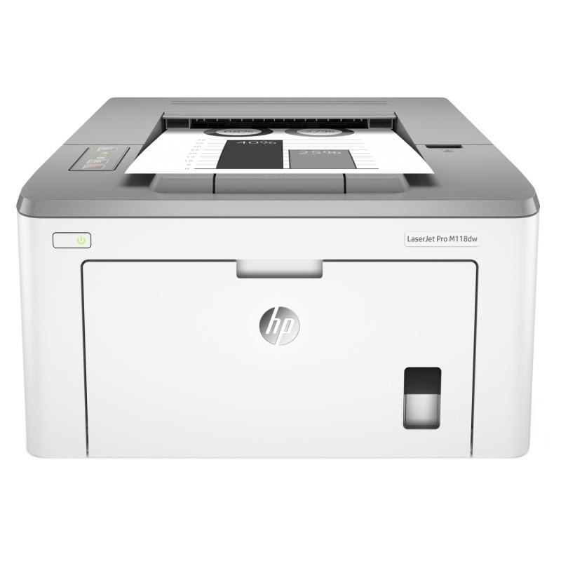 HP Impresora LaserJet Pro M118dw Wifi Red
