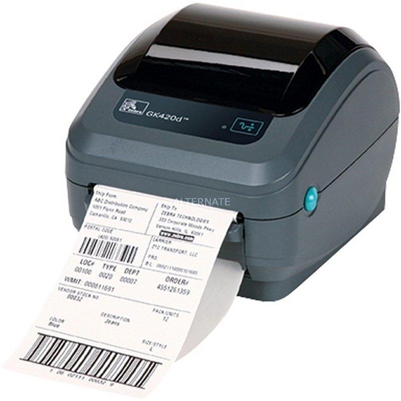 Zebra Impresora Térmica GK-420D