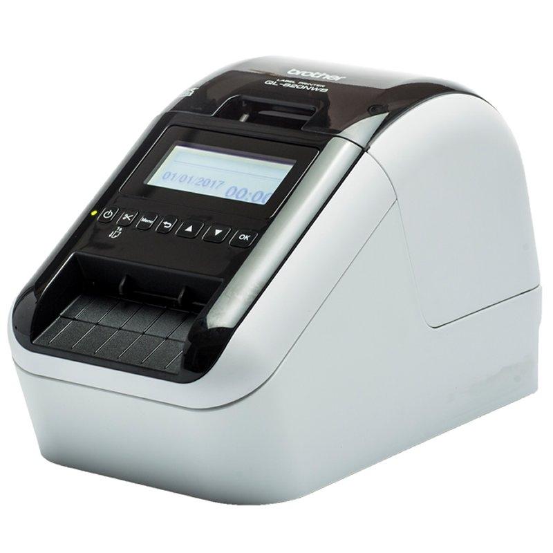 Brother Impresora Etiquetas QL-820NWB Wifi Red