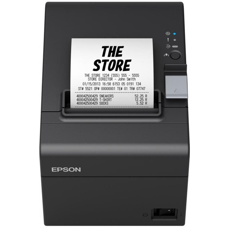Epson Impresora Tickets TM-T20III Usb+RS232 Negra