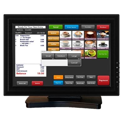 "VivaPos T1505 Monitor Táctil 15"" LCD USB Negro"