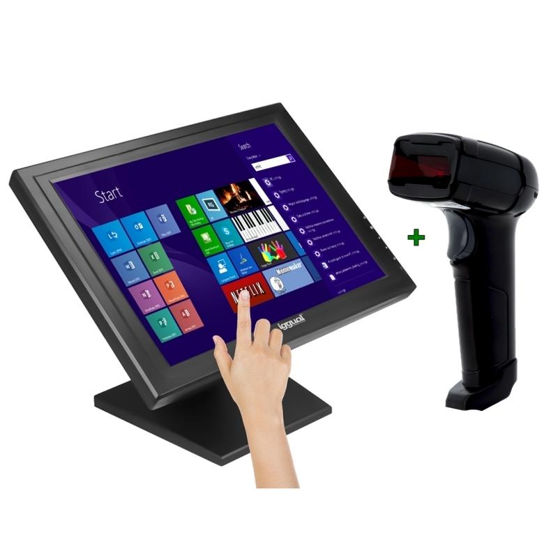 KIT iggual Monitor Táctil 15