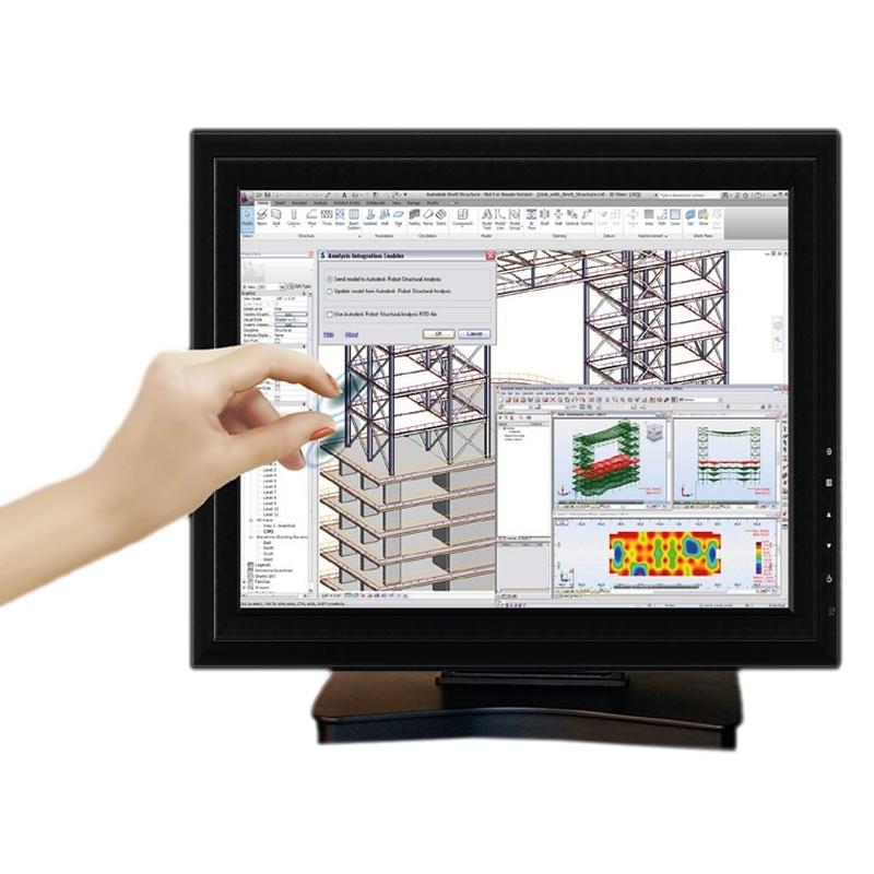 Posiberica T1505C Monitor Táctil 15