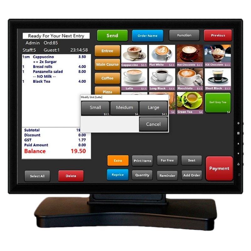 VivaPos Monitor Táctil 17