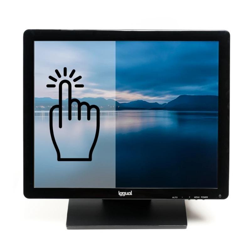 iggual MTL19B monitor LCD Táctil 19