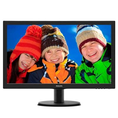 "Philips 193V5LSB2 Monitor 18.5"" LED  16:9 5ms VGA"