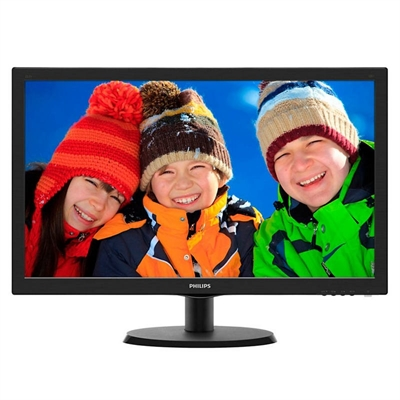 "Philips 223V5LSB2 Monitor 21.5"" LED 16:9 5ms VGA"