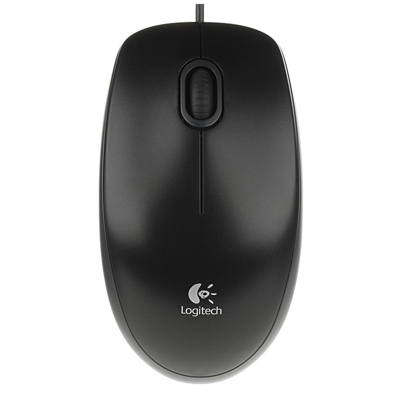 Logitech Ratón B100 OEM Negro