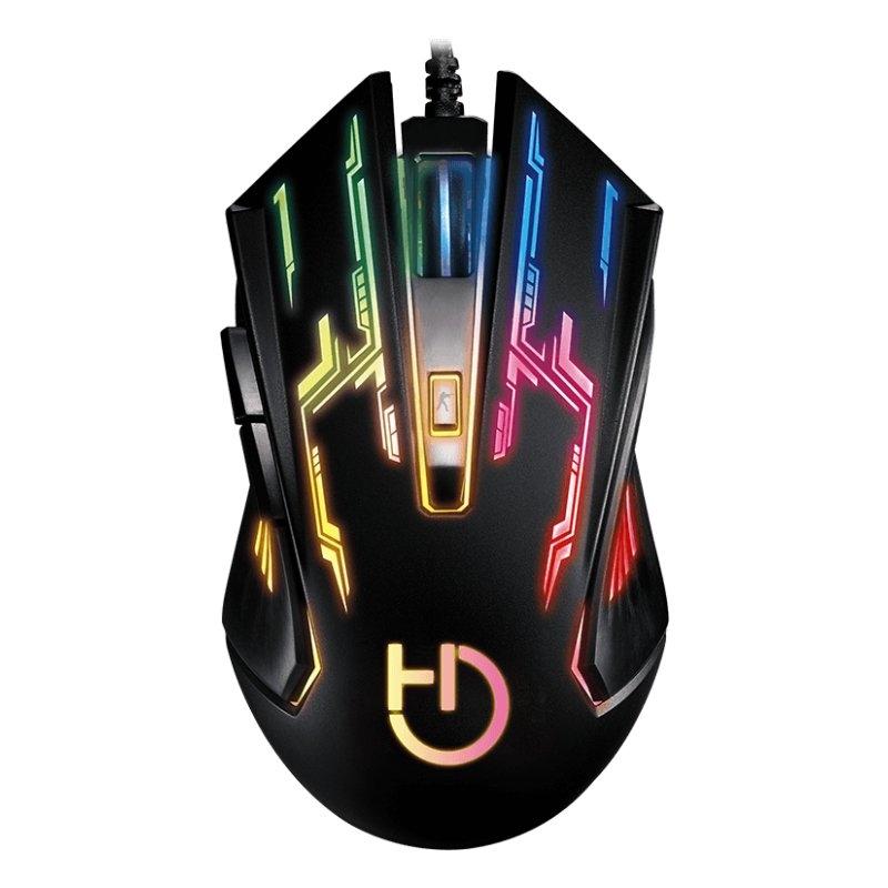 Hiditec Ratón Gaming GX12 2.400 dpi