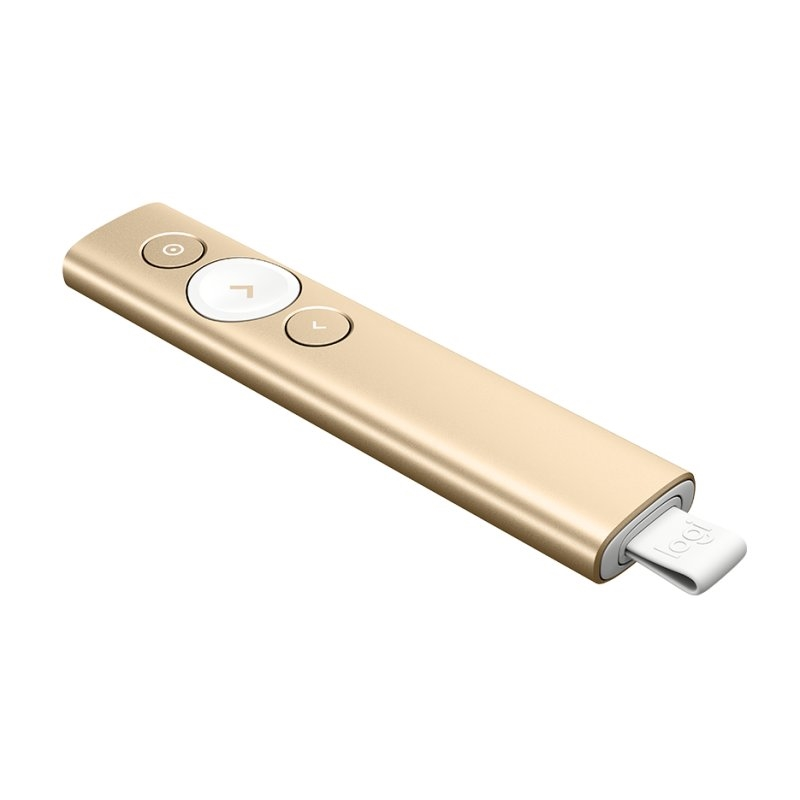 Logitech Spotlight inalámbrico Bluetooth Dorado