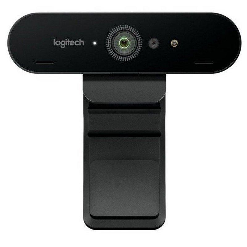 Logitech BRIO Cámara Web 4K Ultra HD con RightLigh
