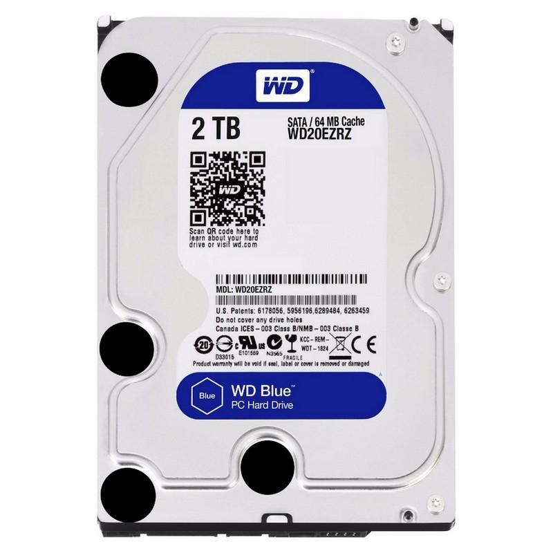 Western Digital WD20EZRZ 2TB SATA3 64MB Blue
