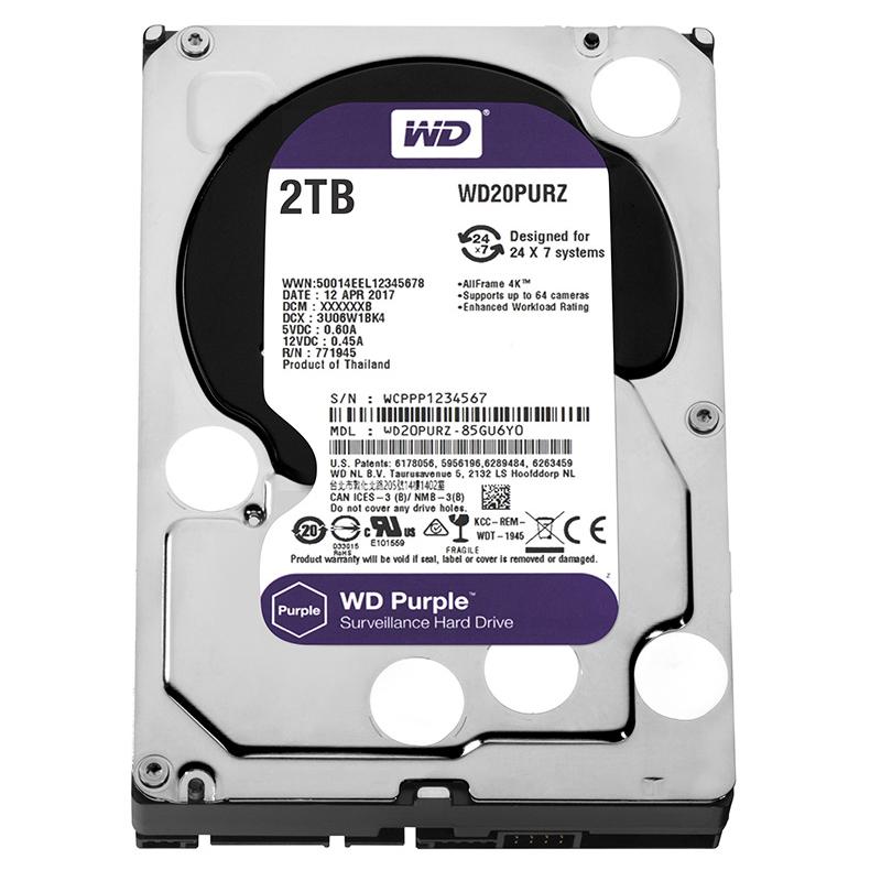 Western Digital WD20PURZ 2TB SATA3 64MB Purple