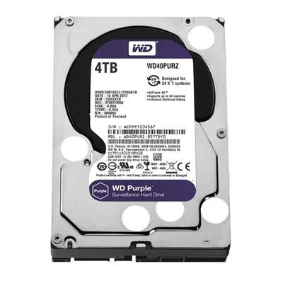 Western Digital WD40PURZ 4TB SATA3 64MB Purple