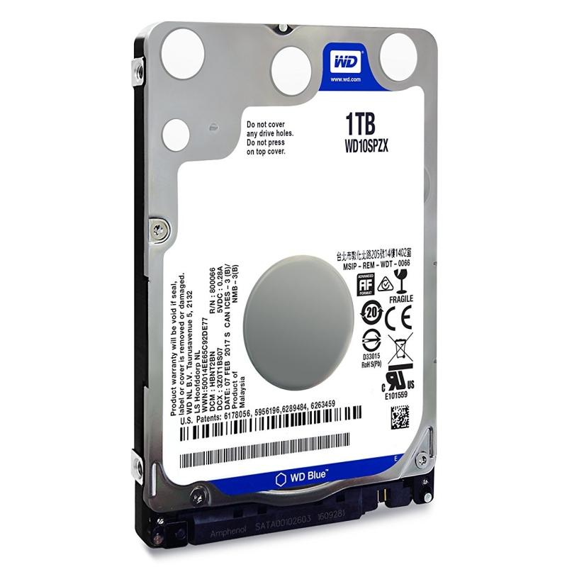 """Western Digital WD10SPZX HD 1TB 2.5"""" 5R SATA3 Blue"""