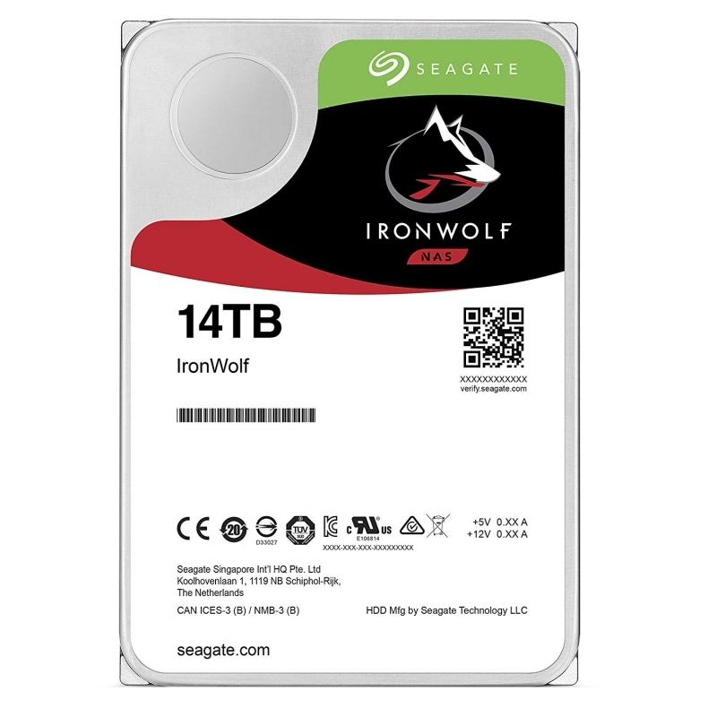 Seagate ST14000VN0008 IRONWOLF NAS 14T 3.5 256 SA3