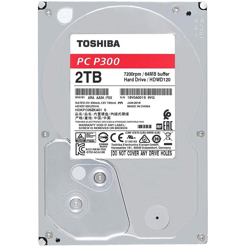"Toshiba P300 HDWD120UZSVA HD 2TB 3.5"" 7200rpm"