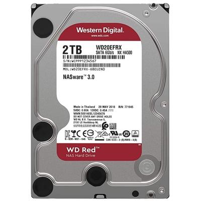 Western Digital WD20EFAX 2TB SATA3  Red
