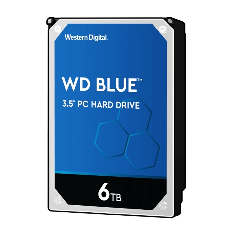 Western Digital WD60EZAZ 6TB SATA3 256MB Blue