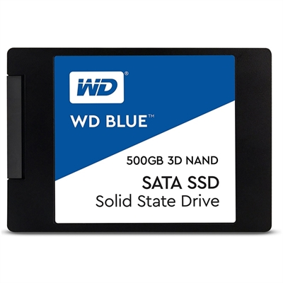 Western Digital WDS500G2B0A SSD 500GB SATA3 Blue