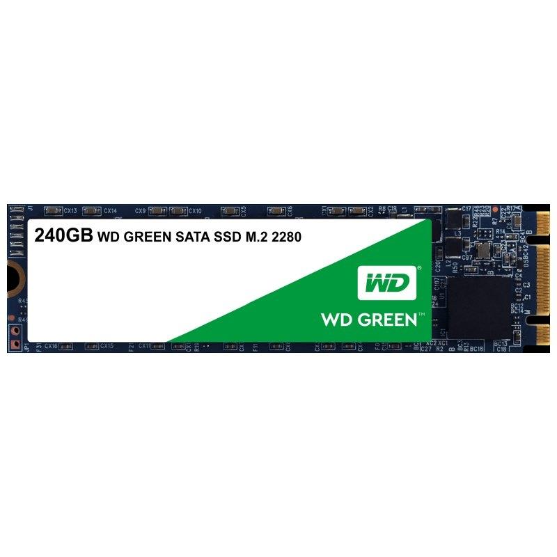 Western Digital WDS240G2G0B SSD M.2 2280 240GB Gre