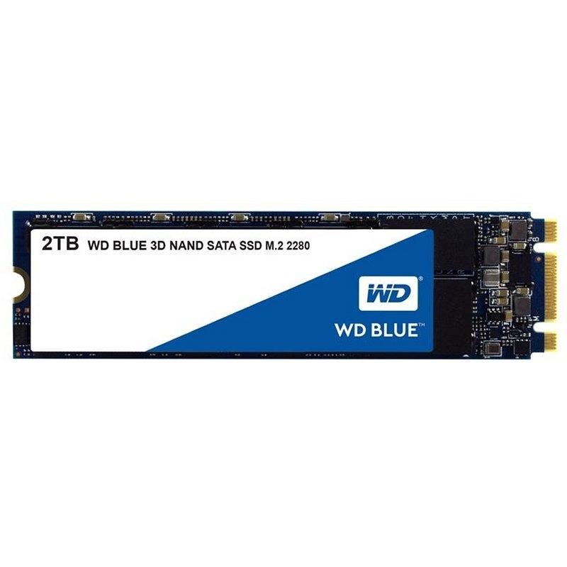 Western Digital WDS200T2B0B SSD M.2 2280  2TB Blue