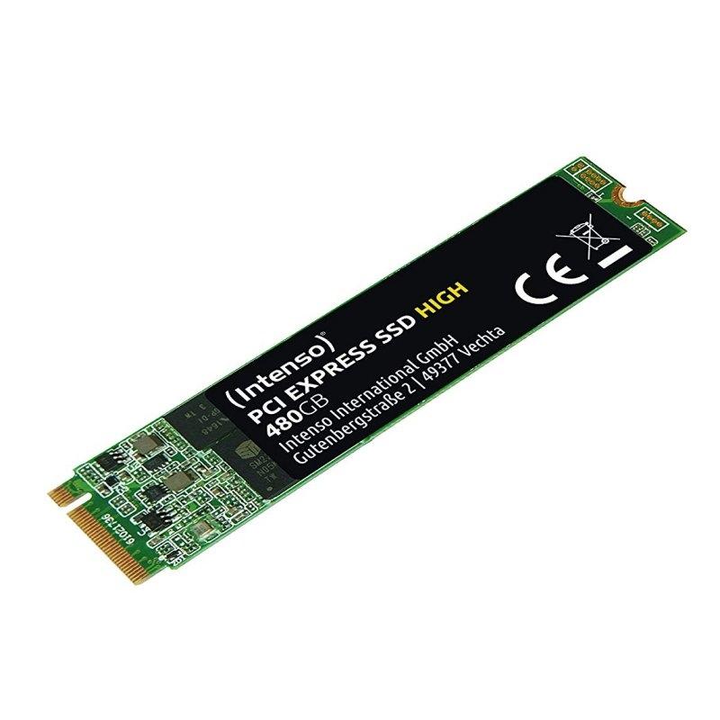 Intenso 3834450 High SSD 480GB M.2 PCIe NVMe