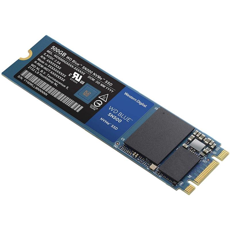 Western Digital WDS500G1B0C SSD NVMe M.2 2280 500G