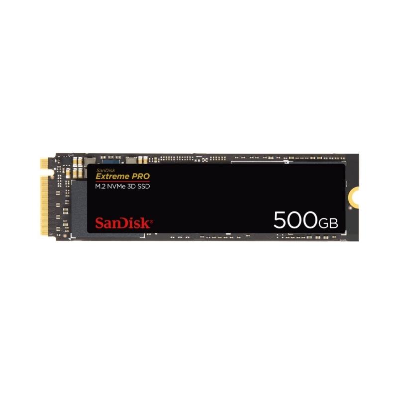 Sandisk SDSSDXPM2-500G-G25 SSD NVMe M.2 3D 500G