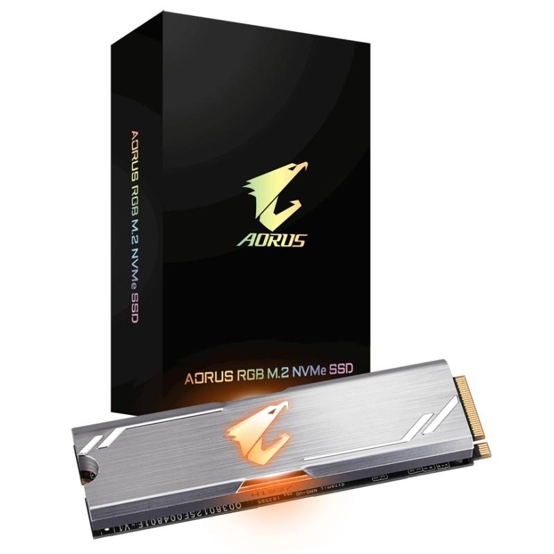 Gigabyte AORUS RGB SSD 512GB M.2 NVMe