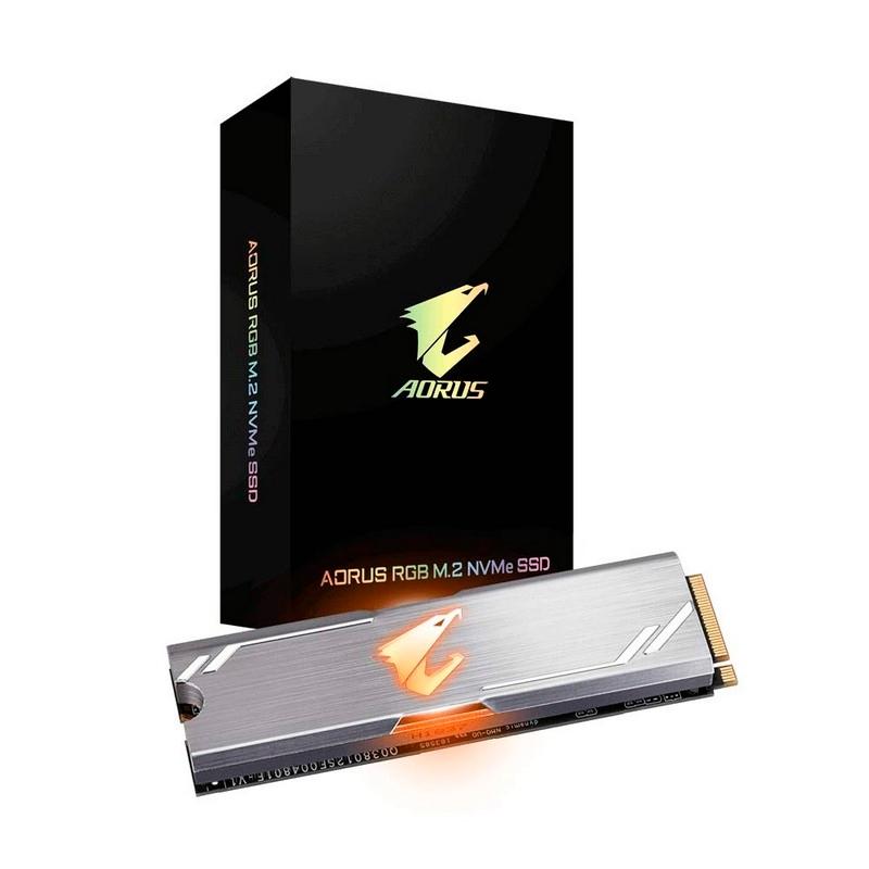 Gigabyte AORUS RGB SSD 256GB M.2 NVMe
