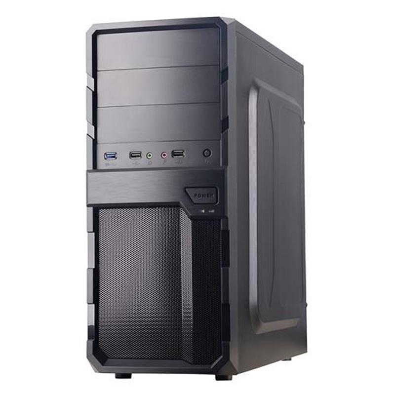 CoolBox Caja ATX F200 BLACK USB3.0 SIN FTE.
