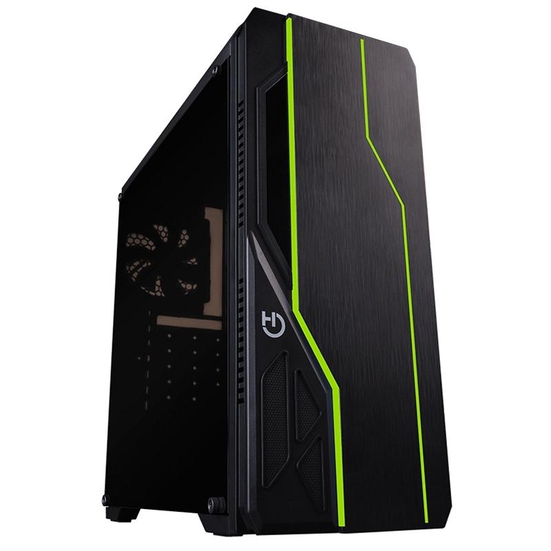 Hiditec Caja Semitorre ATX V10 RGB GAMING USB3.0