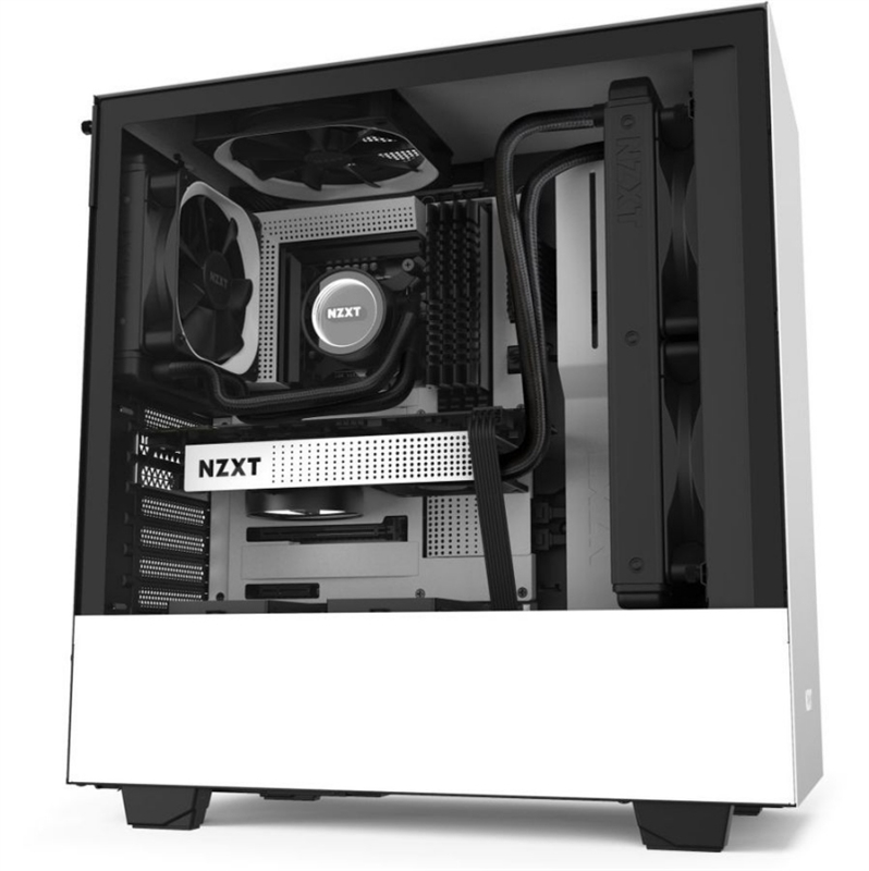 NZXT Caja SemiTorre H510 Blanco Mate