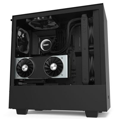 NZXT Caja SemiTorre H510i Led RGB Negro Mate