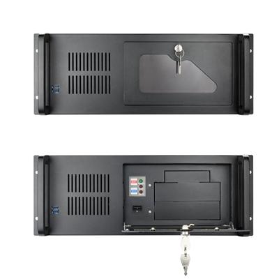 """Tooq Caja RACK-406N-USB3 4U 19"""" ATX Sin F.A Negro"""