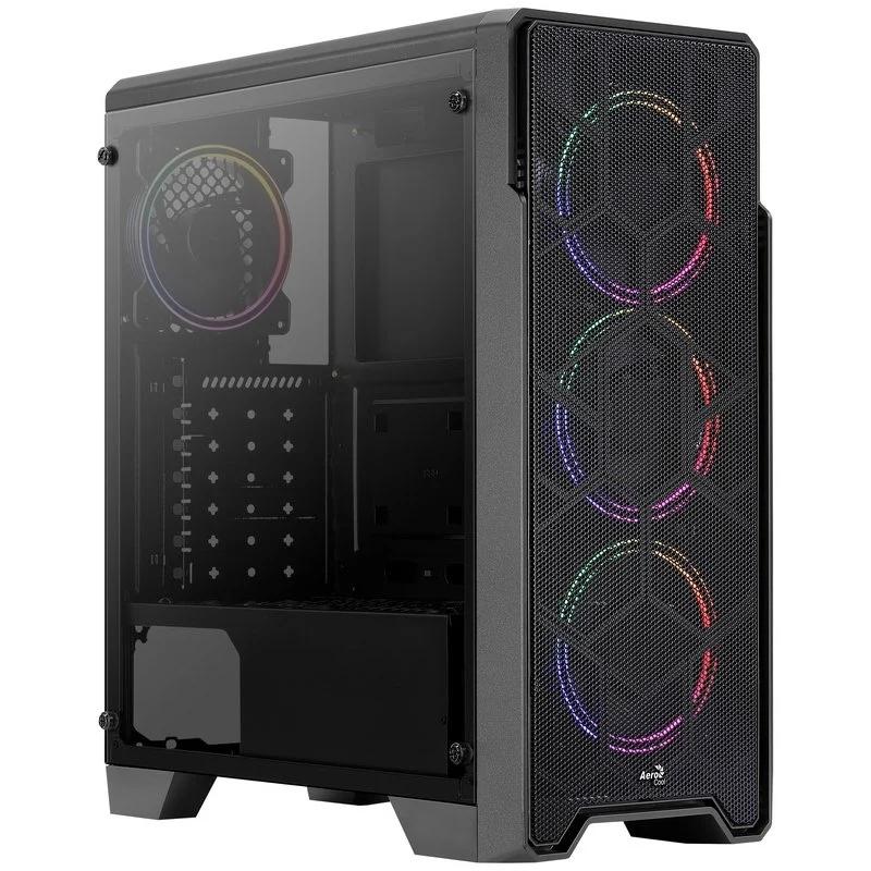 Aerocool ORESATURNFRGB 4x 120mm rgb fixed fans