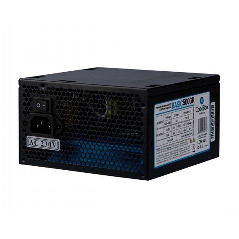 CoolBox Fuente.Alim  ATX COOLBOX BASIC 500GR