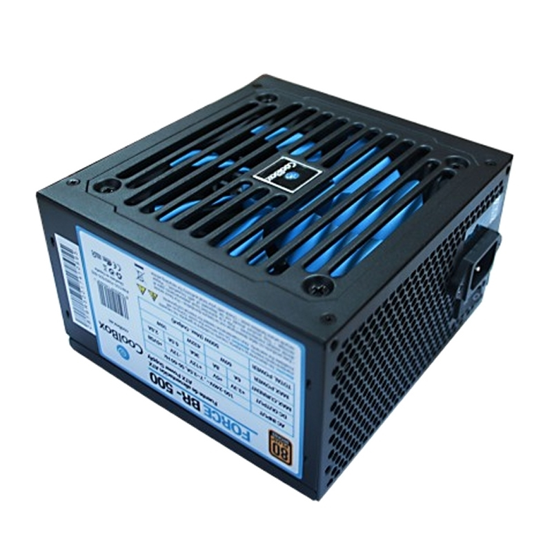 CoolBox Fuente AL. ATX FORCE-BR500 BRONZE OEM