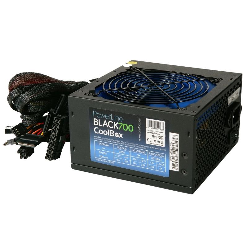 CoolBox fuente alimentación Powerline 700 PFC ATX