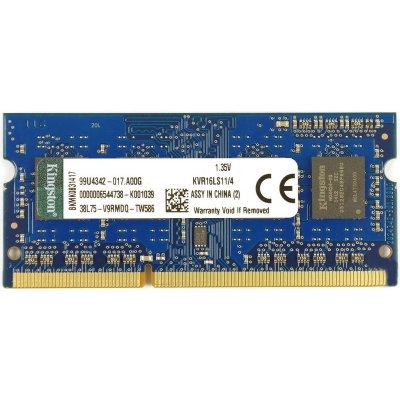 Kingston KVR16LS11/4 4GB SoDim DDR3 1600MHz 1.35V