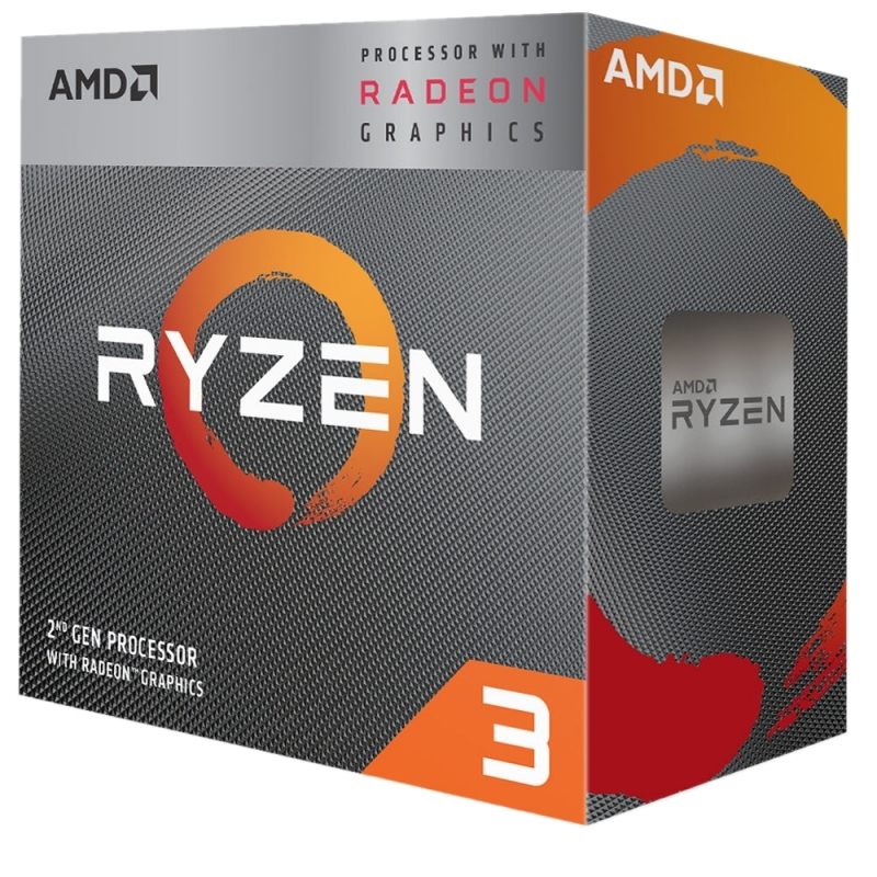 AMD RYZEN 3 3200G 3.6GHz 6MB 4 CORE  AM4 BOX