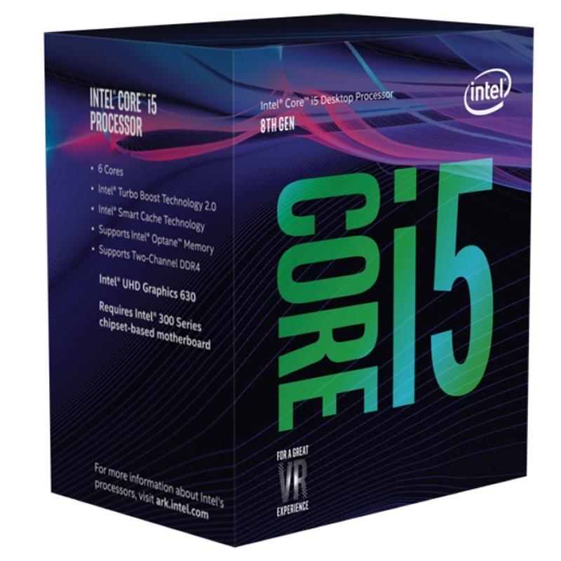 Intel Core i5 8400 2.8Ghz 9MB LGA 1151 BOX