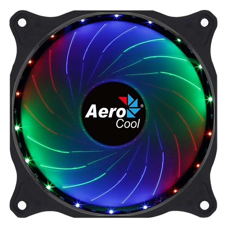 Aerocool Ventilador COSMO12 frgb, 12cm fixed rgb