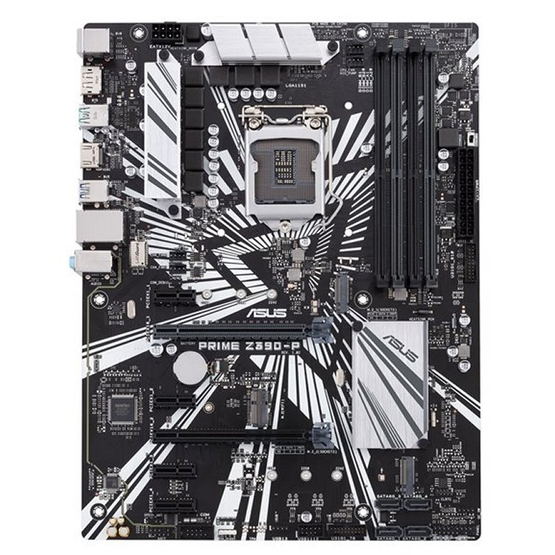 ASUS Placa Base PRIME Z390-P ATX LGA1151