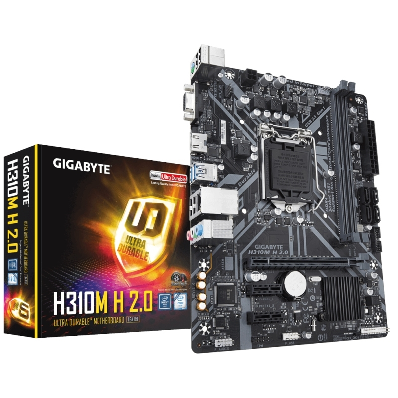 Gigabyte Placa Base H310M H 2.0 mATX 1151