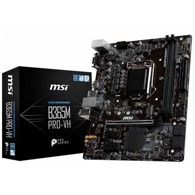 MSI Placa Base B365M PRO-VH mATX LGA1151
