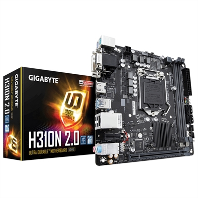 Gigabyte Placa Base H310N 2.0  mini ITX LGA1151