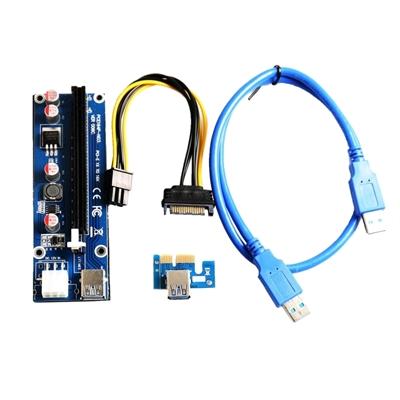 Tarjeta Riser Card AC330 PCI-E 1X a 16X Ver. 2.0
